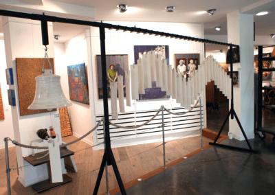 Exposition galerie promenarts saint martin de ré céramique contemporaine
