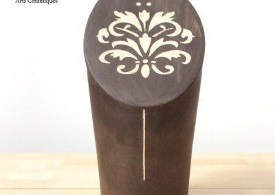 Sculpture en grès cocyclicité C métiers d'art