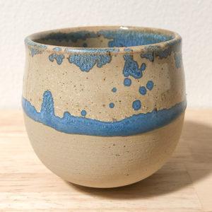 tasse grès émaillée cristaux céramique artisanale